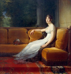 Portrait of Josephine by Francis Gerard 1801