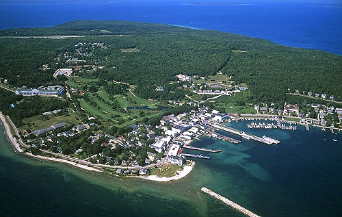 Mackinac Island, Michigan in summer