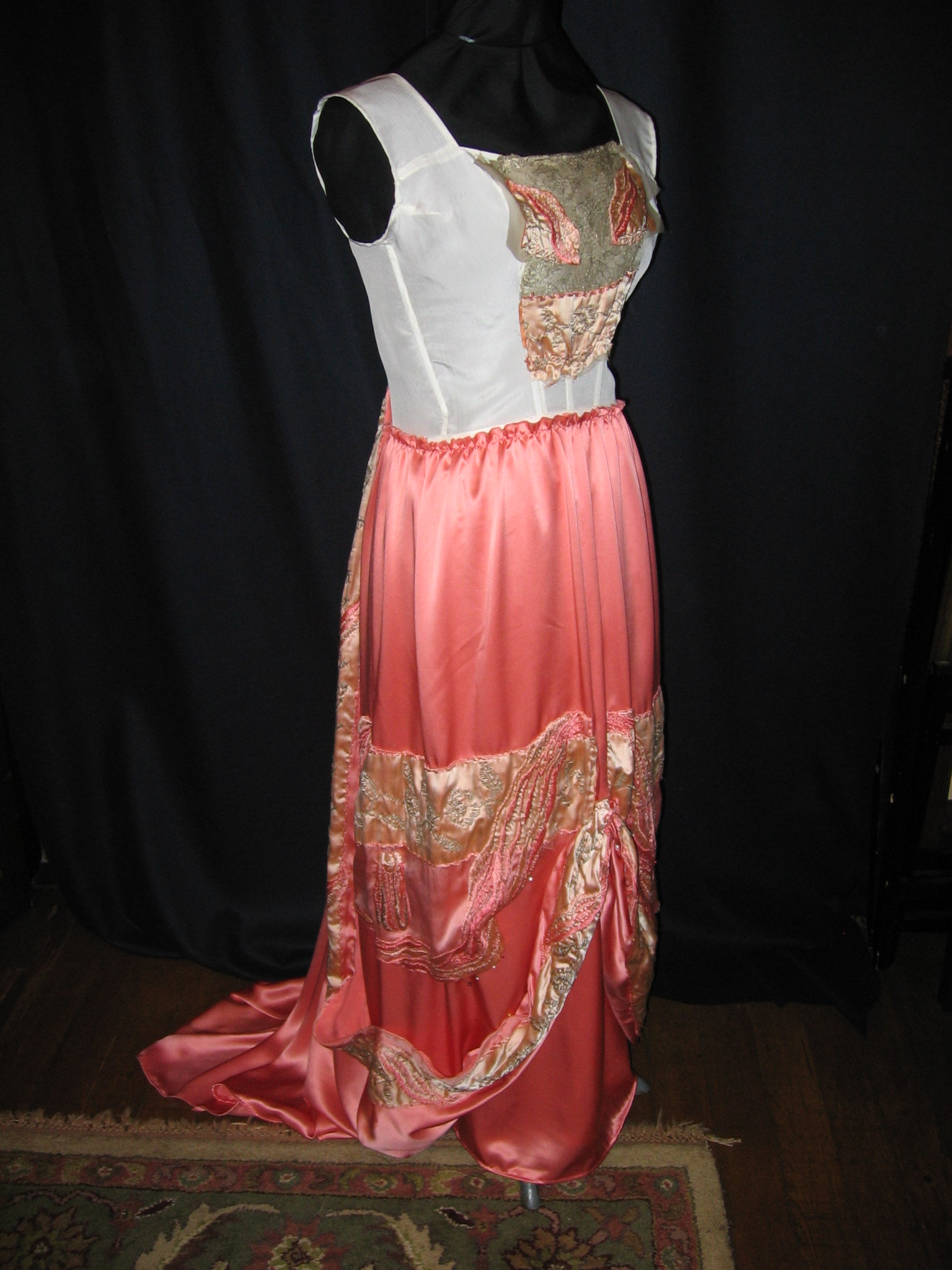 1912 silk gown project 015