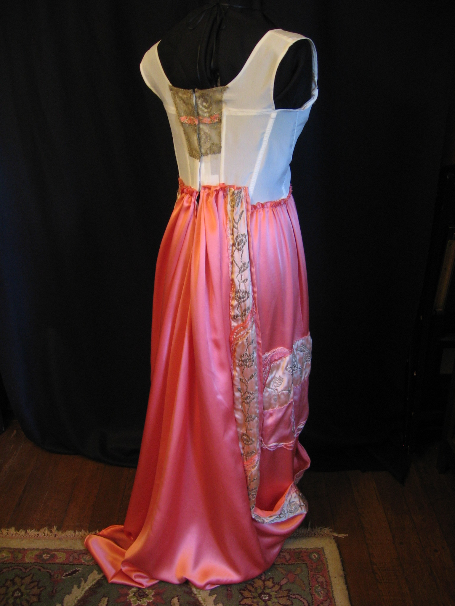 1912 silk gown project 017