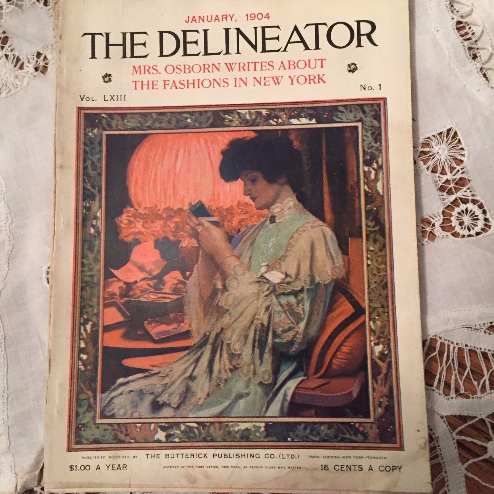 Lovely place to research: January, 1904 Delineator magazine